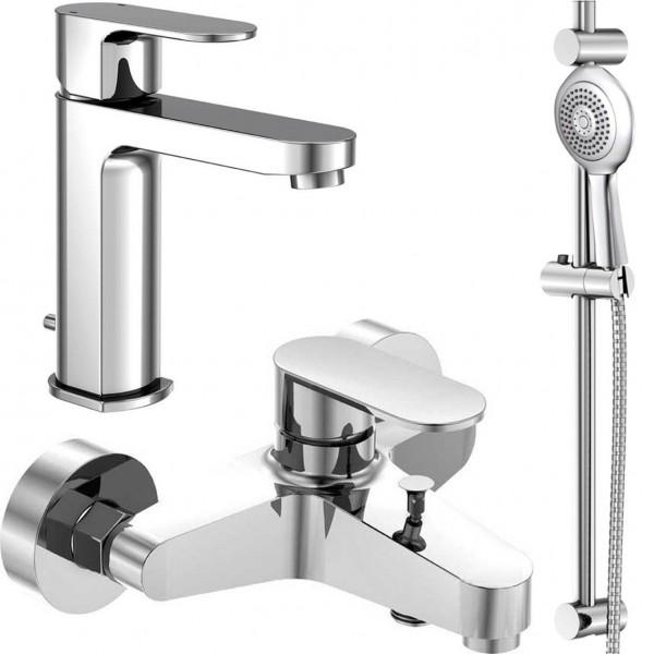 Набор смесителей для ванны 3 в 1 Steinberg Triple One 111 1111 (111 1000 +111 1150 + 111 1600)
