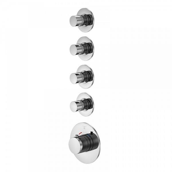 Steinberg встраиваемый термостат с 4-мя запорными вентилями (100 4340)