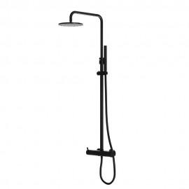 Steinberg Серия 100 Matt Black Душевая система с термостатом (100 2721 S)