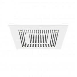 Верхний душ потолочный 600х600 мм с 2-мя режимами, подсветкой, Easy Clean, полированная нержавеющая сталь 390 6622