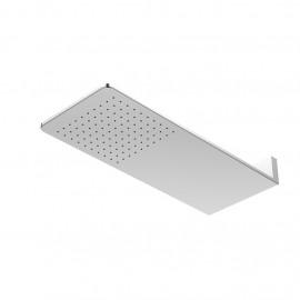 Верхний душ из стены 600х250 мм с Easy Clean, полированная нержавеющая сталь 390 5661