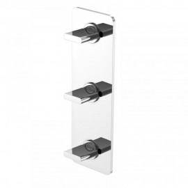 Steinberg Серия 230 Смеситель для душа на 3 отверстия с керамическими вентилями, с 2-х ходовым переключателем (230 2172)