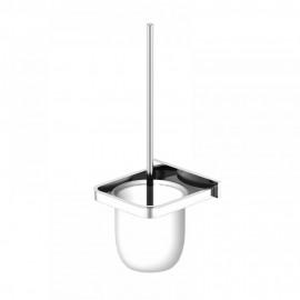 Steinberg Серия 450 Ершик для туалета, матовое стекло, хром 450 2901