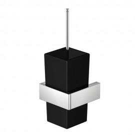 Steinberg Серия 460 Ершик, чёрное сатин. стекло, хром 460 2904