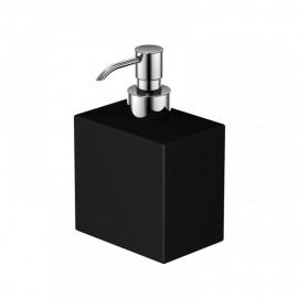 Steinberg Серия 460 Дозатор для жидкого мыла 104 х 70 х 105мм, чёрное сатин. стекло 460 8102