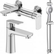Набор смесителей для ванны 3 в 1 Steinberg 225 1111 Serie 225 (225 1000 +225 1100 + 111 1600)