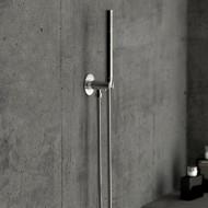 """Steinberg Серия 170 Душевой набор с интегрир. подсоединением шланга 1/2"""", с настенным держателем, с металлическим шлангом 1500мм, с защитой от обратного потока, хром 170 1670"""