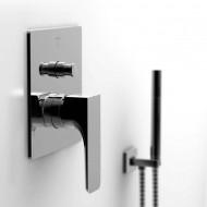 Steinberg Серия 200 Наружная часть для однорычажного встраиваемого смесителя для ванны/душа с переключателем (200 2103)