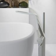 Напольный смеситель для ванны Steinberg Series 260 Brushed Nickel 260 1162 BN