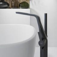 Напольный смеситель для ванны Steinberg Series 260 Matt Black 260 1162 S