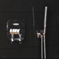 Steinberg Серия 270 Pучной душ c металлическим шлангом  с защитой от обратного потока, хром (270 1670)