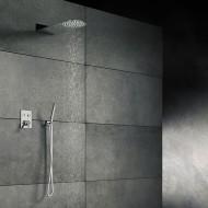 Верхний душ из стены Steinberg 390 430х200 мм ультратонкий с Easy Clean, полированная нержавеющая сталь 390 1625