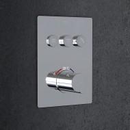 Steinberg Серия 390 встраиваемый термостат на 3 режима в комплекте с внутренней частью (390 4231)