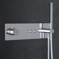 Steinberg Серия 390 встраиваемый термостат на 3 режима в комплекте с внутренней частью и ручным душем (390 4232)