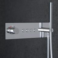 Steinberg Серия 390 встраиваемый термостат на 4 режима в комплекте с внутренней частью и ручным душем(390 4242)