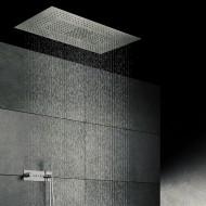 Верхний душ потолочный 1220х620 мм с 3-мя режимами, Easy Clean, полированная нержавеющая сталь 390 6031