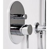 Steinberg Серия 100 Наружная часть для однорычажного встраиваемого смесителя для ванны/душа (100 2103)