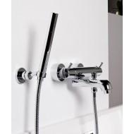 Steinberg Серия 100 Душевой набор с настенным держателем, с металлическим шлангом 1500мм, хром 100 1650