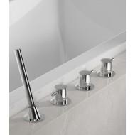 Врезной смеситель для ванны Steinberg 100 (100 2480)