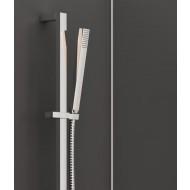 Steinberg Серия 135 Душевой гарнитур со штангой 900мм, c ручным душем, с металлическим шлангом 1800мм, xром 135 1602