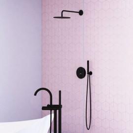 Steinberg Серия 100 Matt Black Верхний душ 250 x 8мм, 100 1686 S