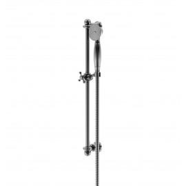 Steinberg Серия 199 Душевой гарнитур со штангой, c ручным душем, с металлическим шлангом , xром 199 1600