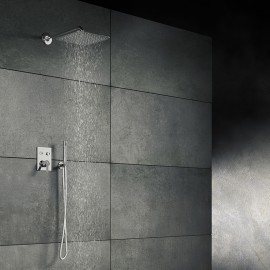 Steinberg Серия 390 Верхний душ 300 x 300 x 2мм, хром 390 1682