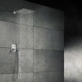 Steinberg Серия 390 Верхний душ 400 x400 x 2мм, хром 390 1683