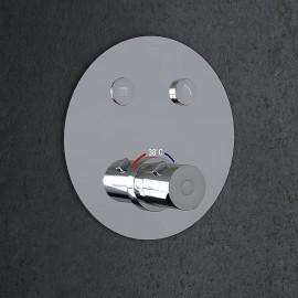 Steinberg Серия 390 встраиваемый термостат на 2 режима в комплекте с внутренней частью (390 4321)