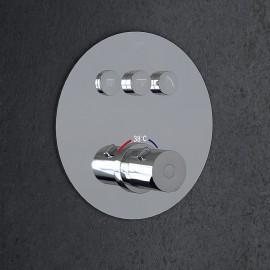 Steinberg Серия 390 встраиваемый термостат на 3 режима в комплекте с внутренней частью (390 4331)