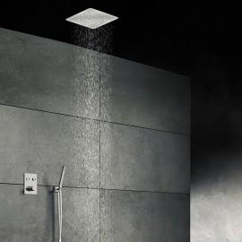 Steinberg Серия 390 Верхний душ 400*400 мм, полир. нерж. Сталь (матовая) 390 4403