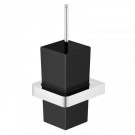 Steinberg Серия 420 Туалетный набор, чёрное сатин. стекло, хром 420 2902