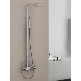 Steinberg Серия 120 Душевой гарнитур с термостатом, с верхним душем и ручным душем с регулировкой по высоте, хром 120 2720