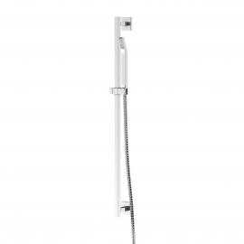 Steinberg Серия 120 Душевой гарнитур со штангой 900мм, c ручным душем, с металлическим шлангом 1800мм, хром 120 1602