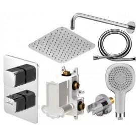 Набор термостата скрытого монтажа Steinberg 230 с верхним и ручным душем 230 4513